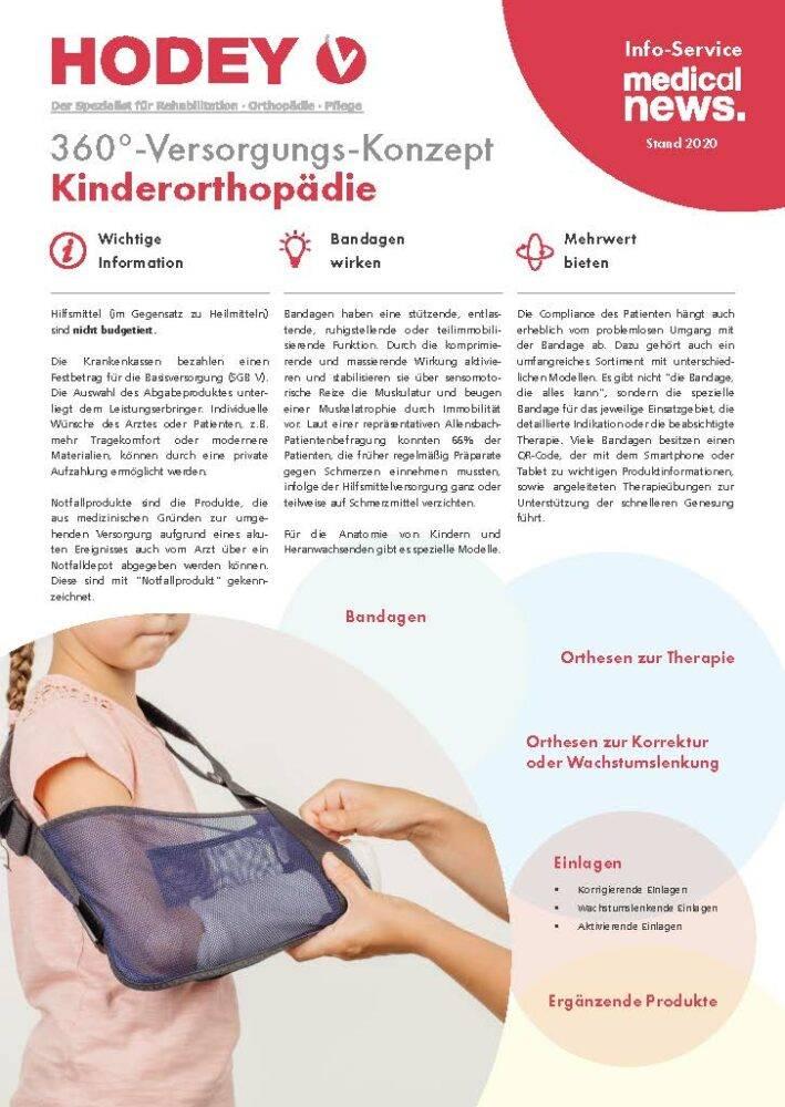 HODEY-Medical News 360°-Versorgungs-Konzept Kinderorthopädie