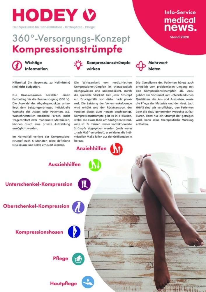 HODEY-Medical News 360°-Versorgungs-Konzept Kompressionsstrümpfe