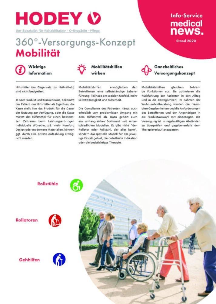 HODEY-Medical News 360°-Versorgungs-Konzept Mobilität