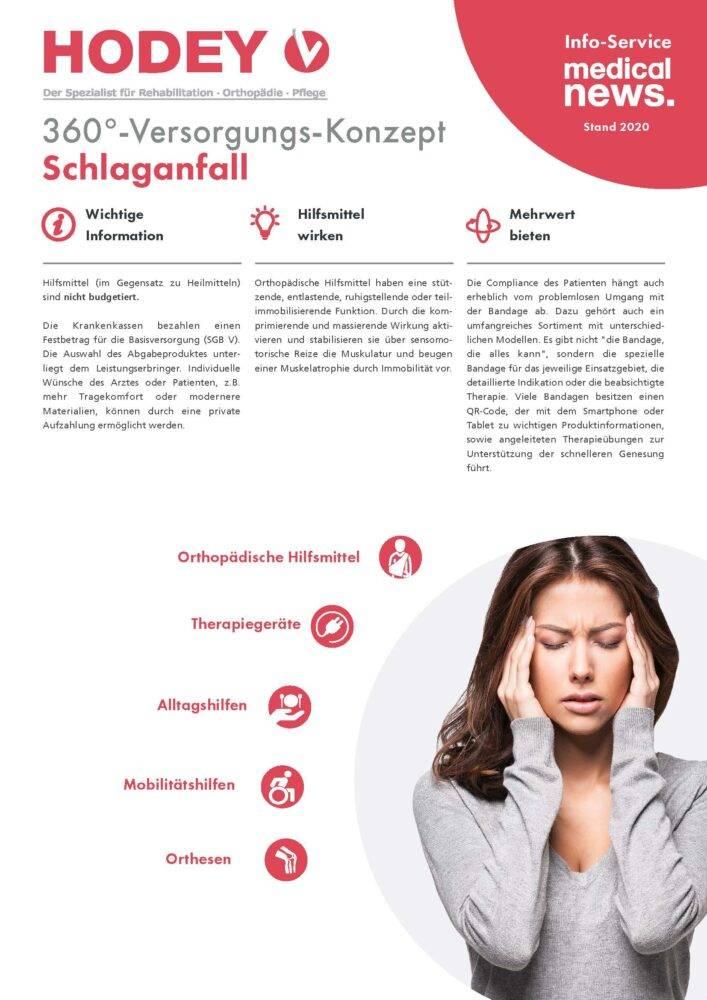 HODEY-Medical News 360°-Versorgungs-Konzept Schlaganfall