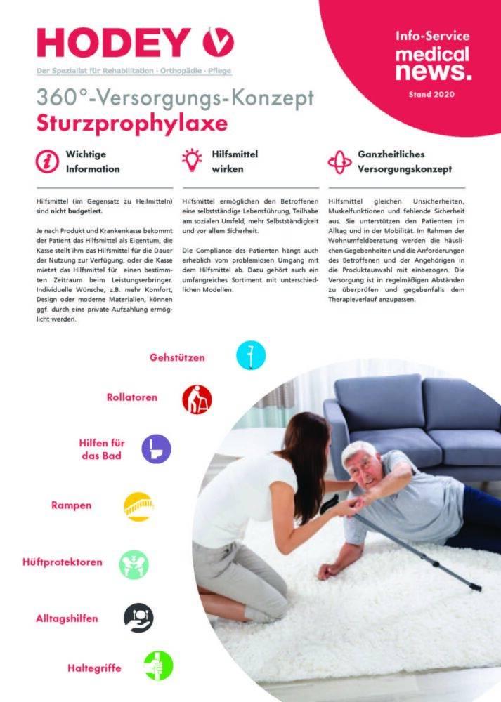 HODEY-Medical News 360°-Versorgungs-Konzept Sturzprophylaxe