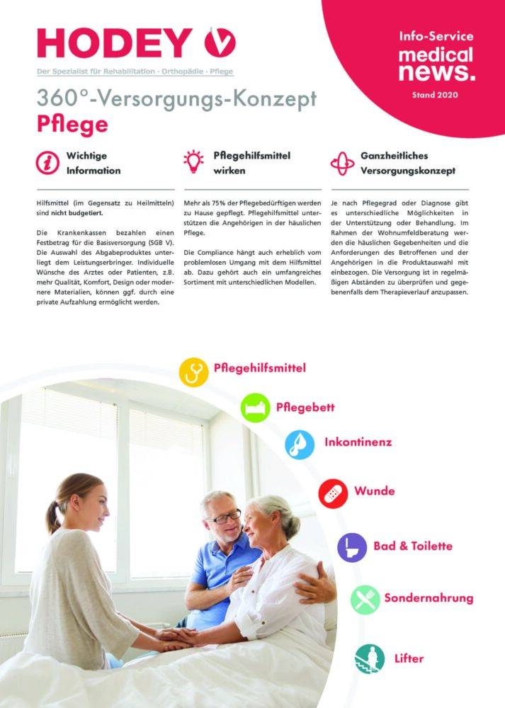 HODEY-Medical News 360°-Versorgungs-Konzept Pflege